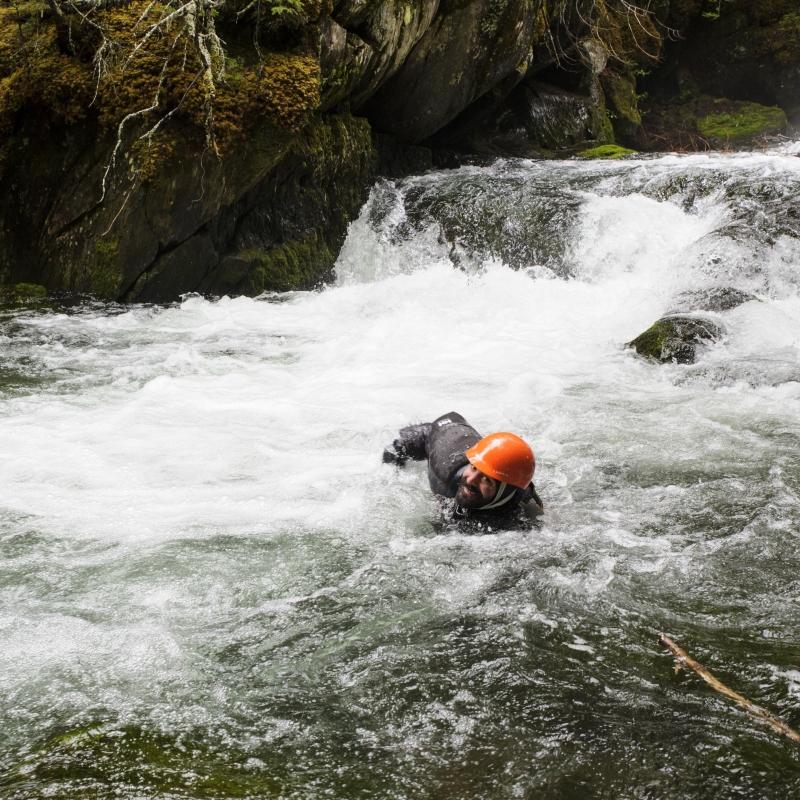 Rémi Bergeron, guide - Arpin Canoe Restigouche